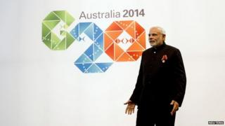 Mr Modi urged world leaders to bring more transparency in international taxing systems