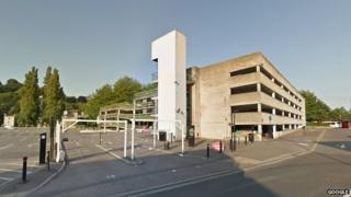 Avon St multi-storey car park, Bath