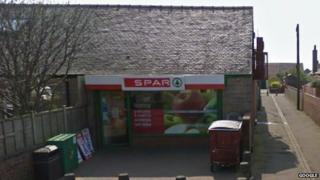 Spar store on St Quivox Road in Prestwick