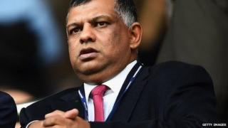 Former Caterham owner Tony Fernandes