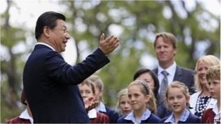 China's President Xi Jinping, Hobart, 18 November, 2014