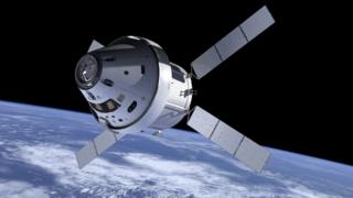 Orion and service module