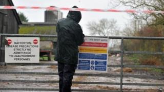 Bird flu farm in Nafferton