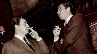 Sir Patrick Leigh Fermor and Dirk Bogarde