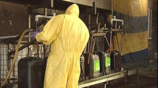 Fuel laundering investigation