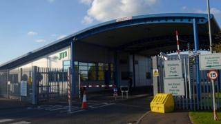 JTI factory in Ballymena