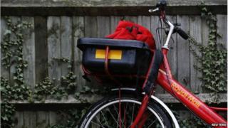 Royal Mail cycle