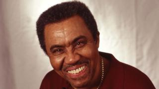 Jimmy Ruffin, pictured in 1998