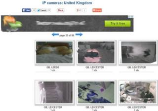 Webcam website