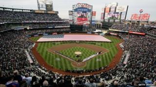New York Mets home stadium.