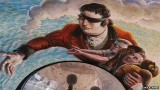 Mural of Edward Rushton