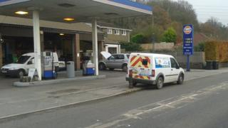Frampton fake speed camera van