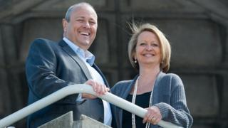 Clive Humby and Edwina Dunn