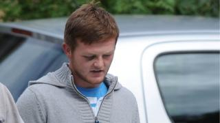 Christopher McLean pictured leaving an earlier court appearance