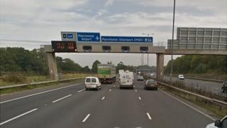 Junction 5 at Manchester Airport
