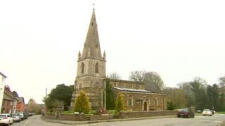 All Saints church, Husbands Bosworth.