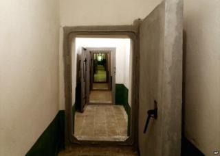 A long corridor in the bunker, built by late communist dictator Enver Hoxha, in Tirana, Albania - 22 November 2014