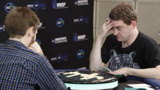Craig Beevers (right) beat Chris Lipe from New York