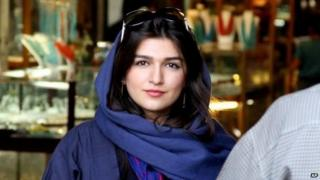 File photo: Ghoncheh Ghavami in Isfahan, Iran, 2011