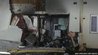 Aldersmead Road blast