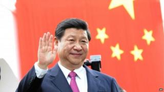Mr Xi has pushed for better ties with regional countries