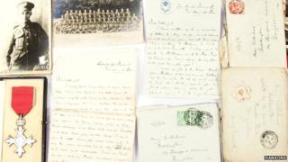 WW1 love letters