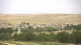 The county of Taipusi in China's northern Inner Mongolia region, 01 June 2007