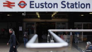 Euston station