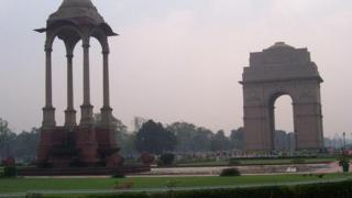 India Gate is one of the famous landmarks of Lutyens' Delhi