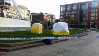 Piccadilly Gardens stabbing