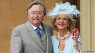 David Mellor and Lady Penelope Cobham