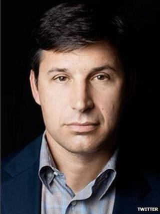 Twitter executive Anthony Noto
