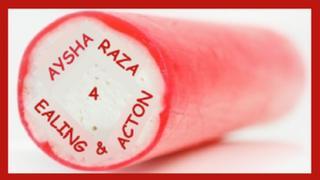 Aysha Raza stick of rock