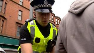 stop and search officer