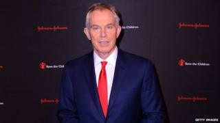 Tony Blair at Save the Children gala