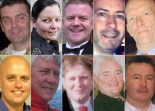 Clutha helicopter crash victims
