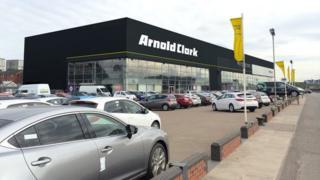 Arnold Clark premises