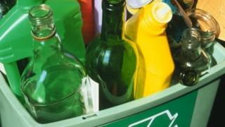 Bottles for recycling
