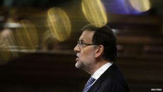 Spanish PM Mariano Rajoy (27 Nov)