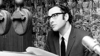 Harold Pinter, in 1968