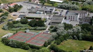 La Mare de Carteret High School and Primary School in Guernsey