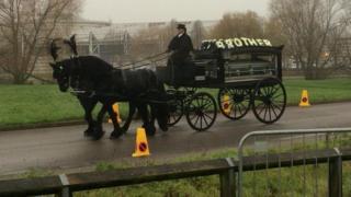Blake Cairns' funeral