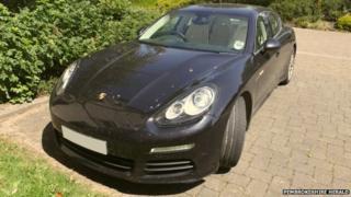 Porsche Bryn Parry Jones