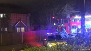 Streatham crash