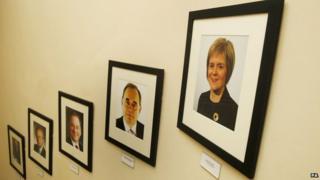 Nicola Sturgeon photo at Bute House