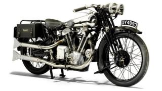 1929 Brough Superior 986cc SS100 Alpine Grand Sports