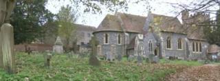 St Andrew's Church in Bradfield