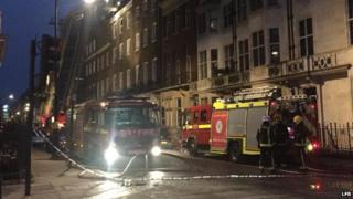 Fire on Wimpole Street