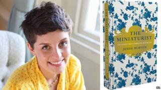 Jessie Burton and her award-winning novel