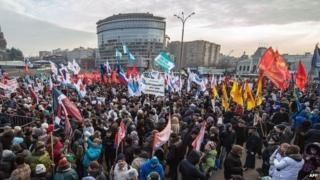 Moscow demonstration - 30 November